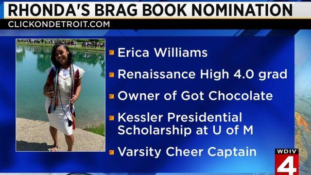 Rhonda's Brag Book: Erica Williams