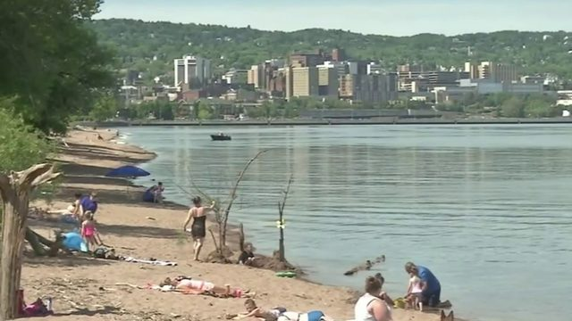 Topless woman at Minnesota beach sparks debate over public nudity
