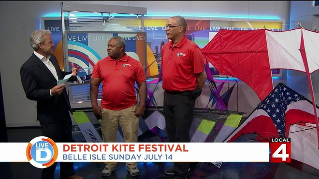 Watch them take flight: The Detroit Kite Festival is coming to Belle Isle