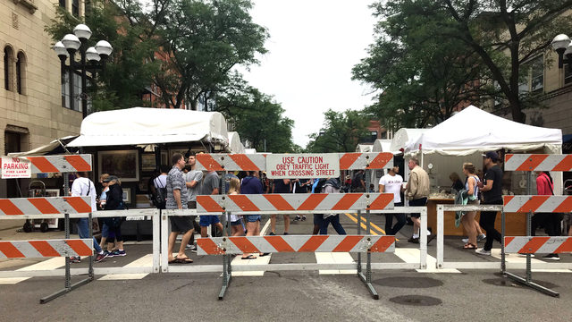 Street closures to know about heading into Ann Arbor Art Fair week