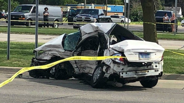 Police investigate deadly collision at intersection of 8 Mile and Inkster roads