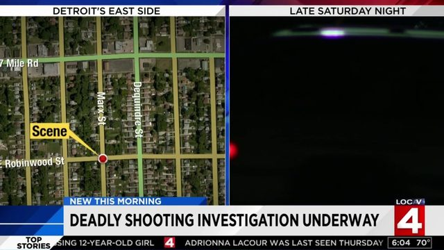 Homicide investigation underway after Detroit shooting, gunman unknown