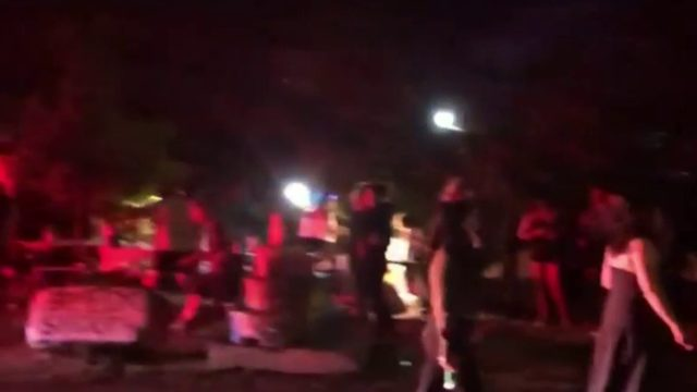 Police show up to event after Detroit partygoers stand on train tracks