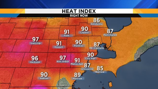 Metro Detroit weather: Get ready for a heat wave