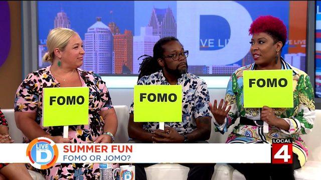 Do you have more summer FOMO or JOMO?