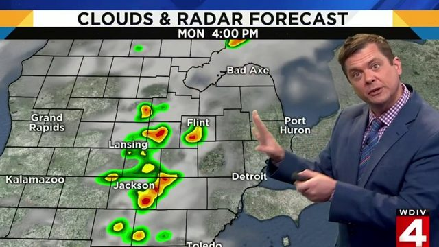 Metro Detroit weather: Steamy with storm chances