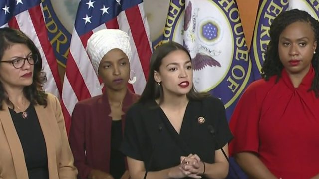 Congresswomen respond to Tump's tweets; he doubles down