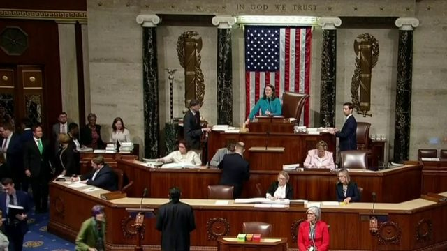 House votes to condemn Trump tweets