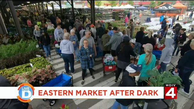 Thursday nights at Eastern Market are a great way to see Detroit after hours