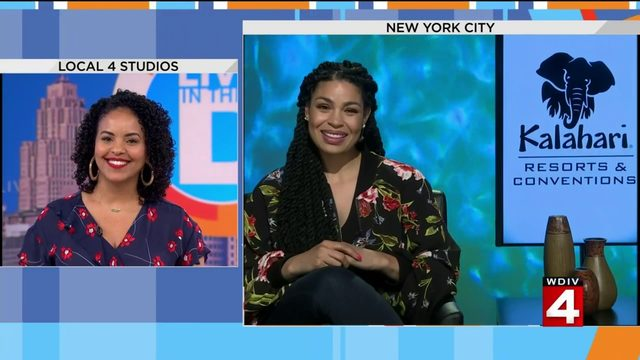 Jordin Sparks left us with 'No Air' after her live interview.