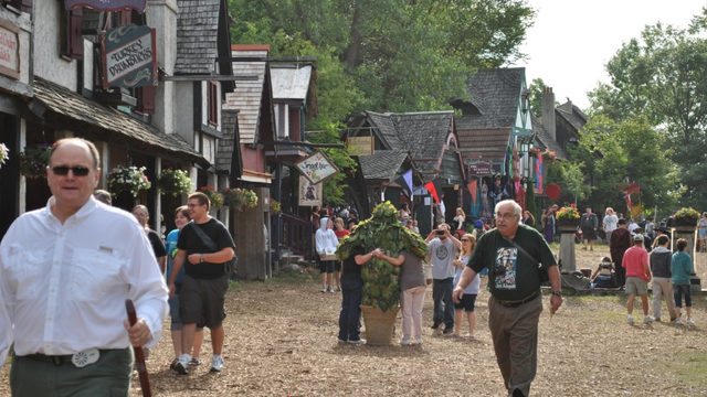 Did you know the Michigan Renaissance Festival has pub crawls?