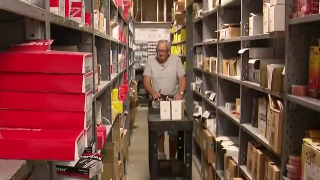 Employee celebrates 60 years
