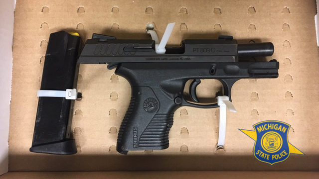 Warren man arrested after police find loaded gun during traffic stop for…