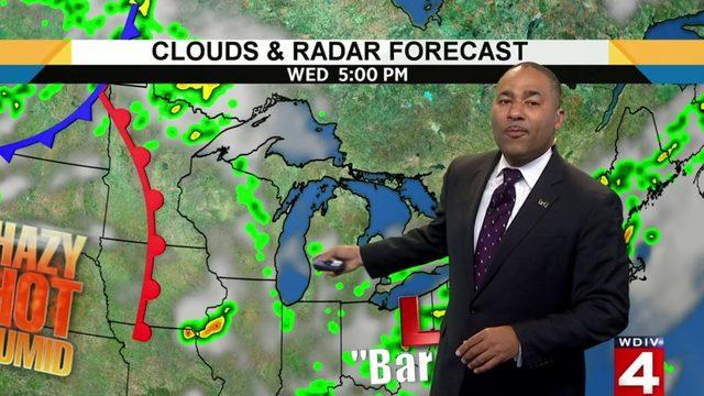 Metro Detroit weather: Rain chances continue today, then the heat