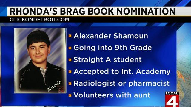 Rhonda's Brag Book: Alexander Shamoun