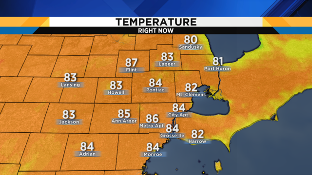 Metro Detroit weather: Dangerous heat knocking on the door
