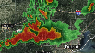 Thunderstorm warning issued for Washtenaw, Wayne counties