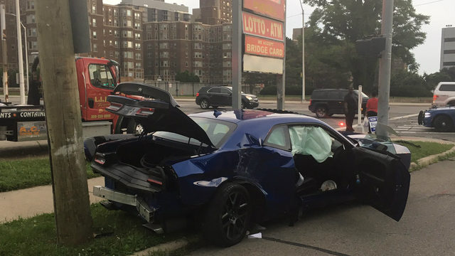 19-year-old driver arrested after fleeing police on Belle Isle, crashing
