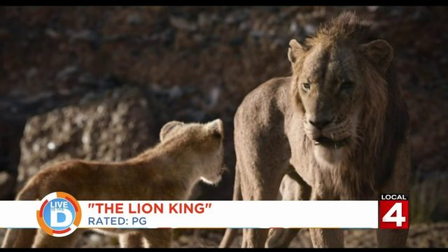 "The live action ""The Lion King"" roars in theaters this weekend"