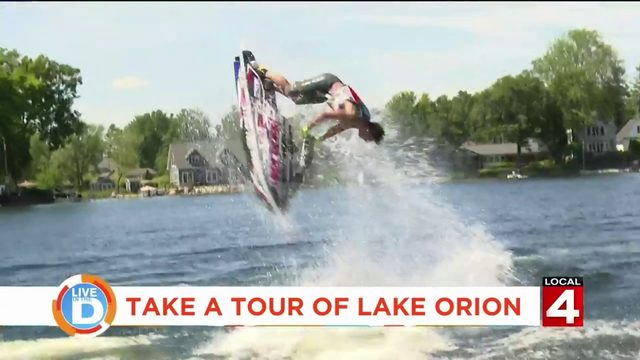 Taking a tour of Lake Orion is like going on vacation without leaving…