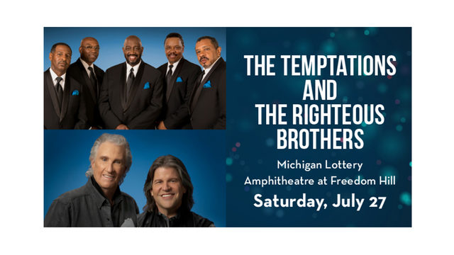 The Temptations and Righteous Brothers Ticket Giveaway Rules