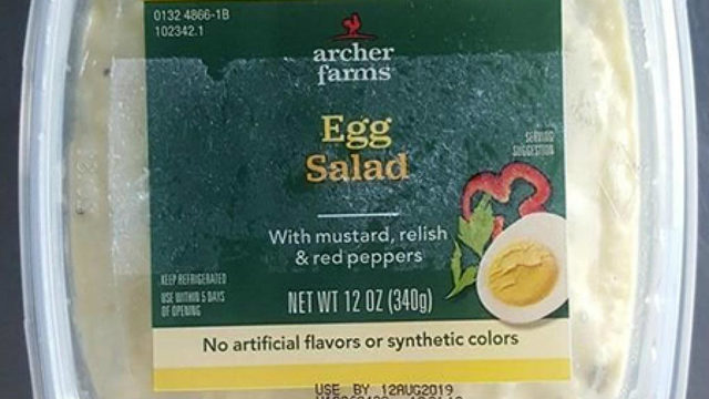 Elevation Foods recalling packaged egg salad, more due to possible…