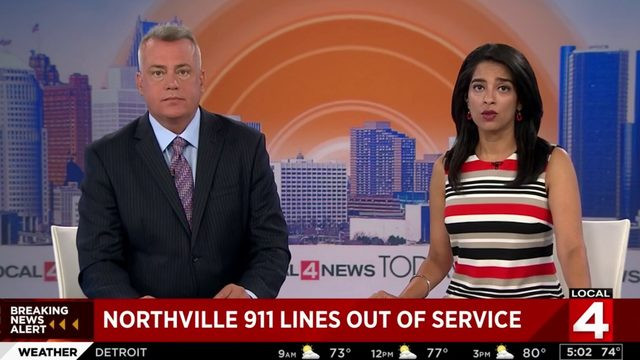 Northville 911 and nonemergency lines out of service