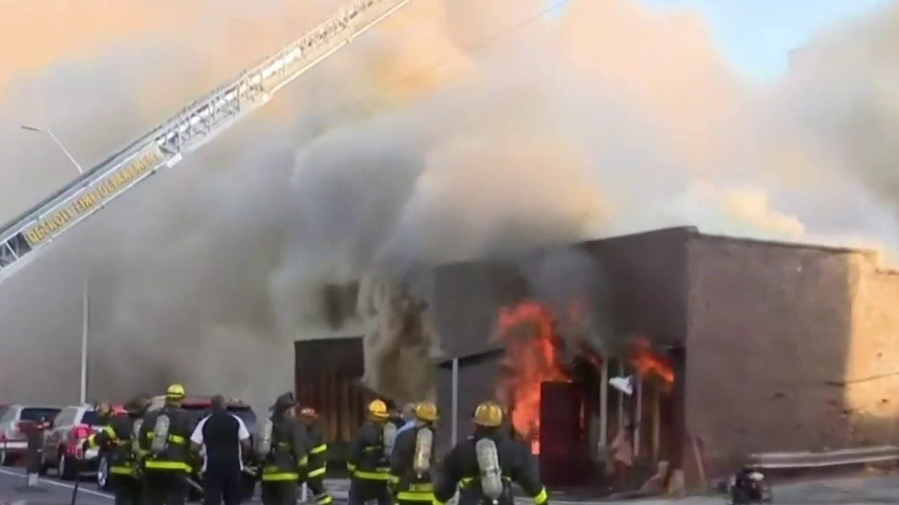 Once legendary concert venue Gold Dollar Bar believed to be total loss after fire