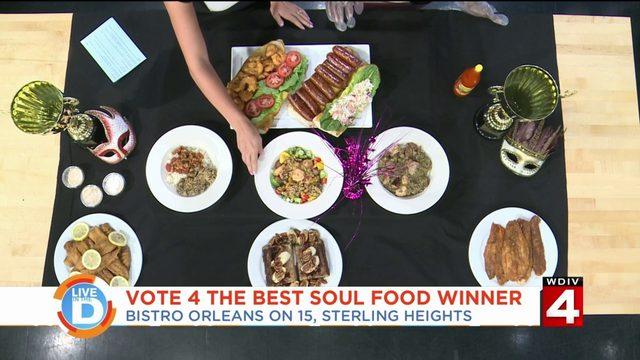 Vote 4 the Best - Soul Food winner