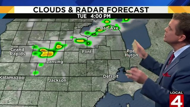 Metro Detroit weather: Break from the heat and storms