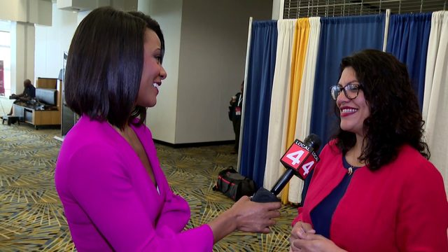 WATCH: Rhonda Walker talks to Michigan leaders at NAACP Convention in Detroit