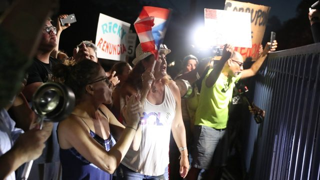 Puerto Ricans gather for massive protest to expel governor