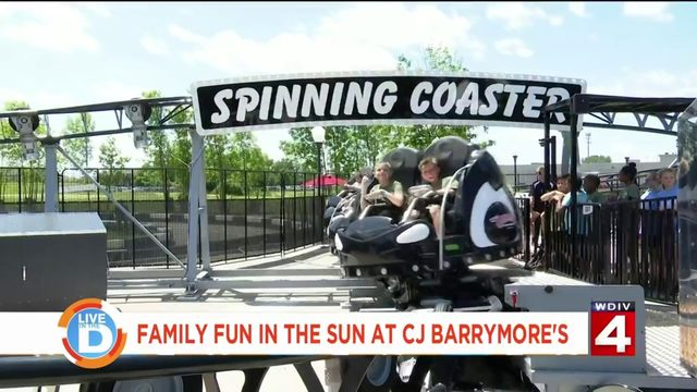 This is why CJ Barrymore's is the place to go this summer!