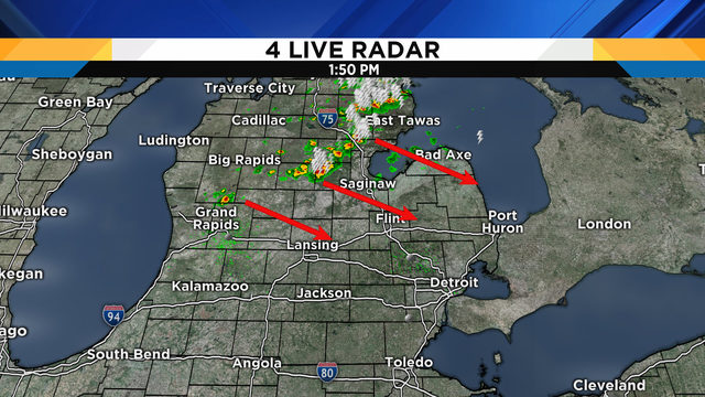 Metro Detroit weather: A few thunderstorms, then the good stuff