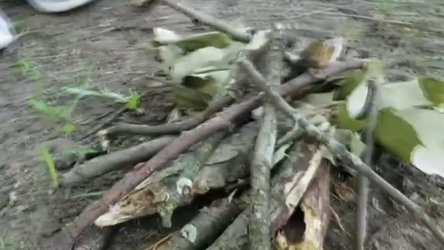 Here is how to spark a campfire