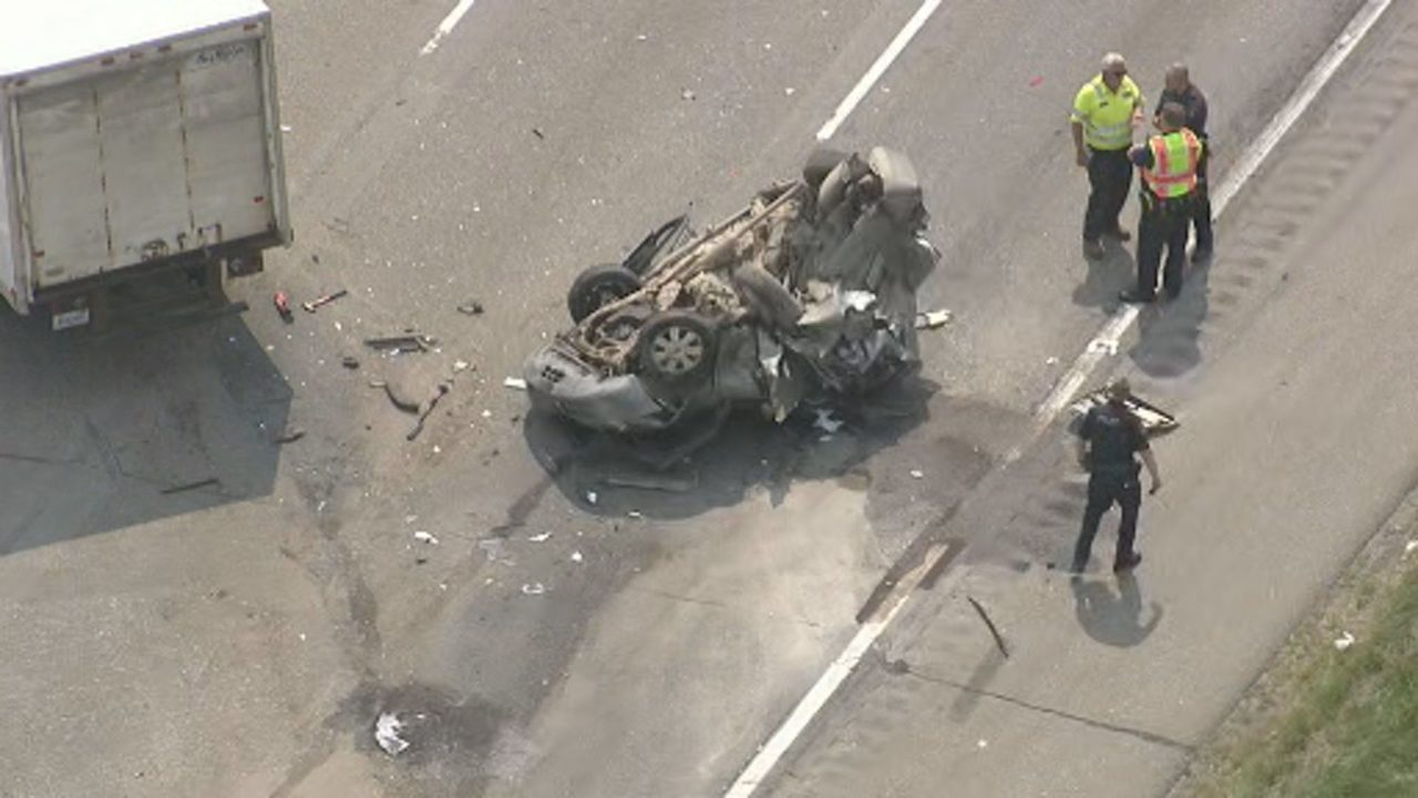 1 taken to hospital after multiple vehicles involved in crash