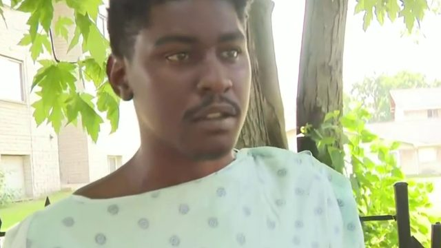 Man shot by gas station clerk during argument speaks after release from hospital