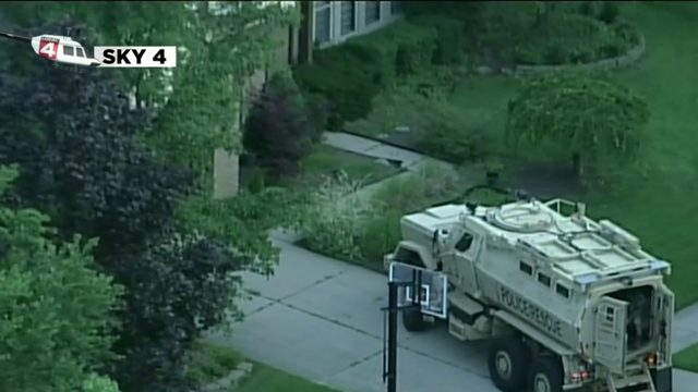 Novi police: Suicidal man barricaded inside home
