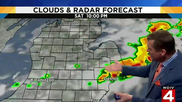 Metro Detroit weather: Sunshine today; humidity increases this weekend