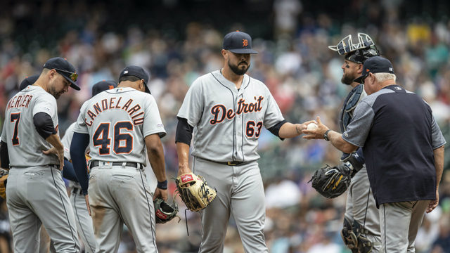 Tigers lose 8-1, fall 40 games below .500 mark