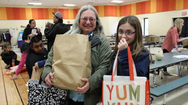 Kiwanis awards Food Gatherers $5K grant to support Healthy School Pantry Program