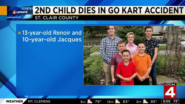 Family: Second child in go-kart crash dies