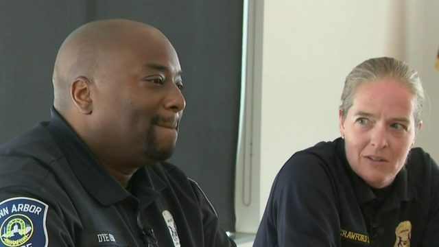 Ann Arbor police sergeant gives gift of life to officer she's known for 20 years