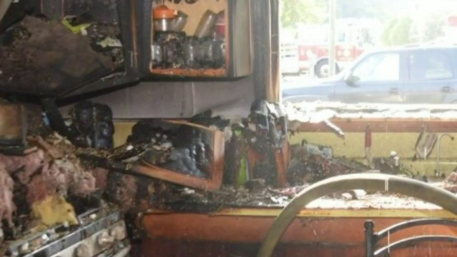 Hamburg Township couple discovers house fire when checking security camera
