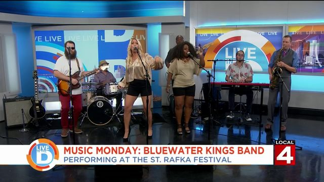 Bluewater Kings Band is rolling on a river to the St. Rafka Maronite Festival