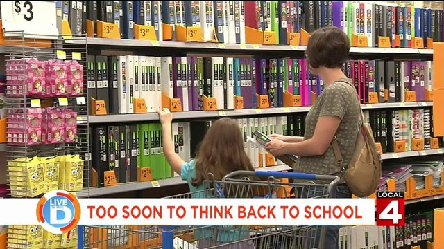 Is it too early to start planning for kids to go back to school?