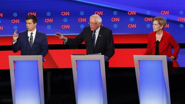 Debate in Detroit: Sanders, Warren fight back in support of 'Medicare for All'