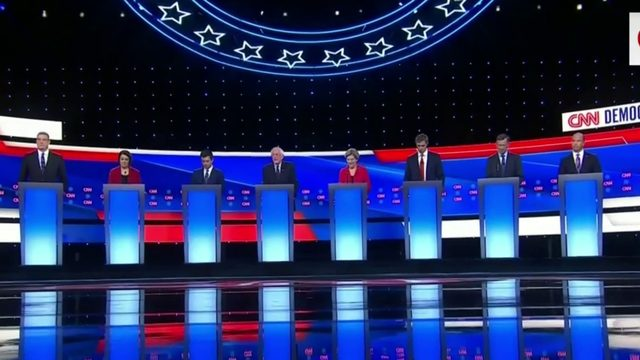 Detroit debates: Health care, immigration, gun violence top issues…