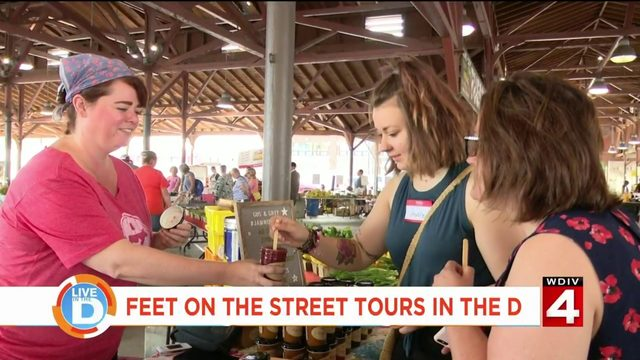 Take a tour of delicious bites with Eastern Market Food Tours