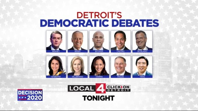 Night 2 of Detroit Democratic Debates: Who's on stage, how to watch